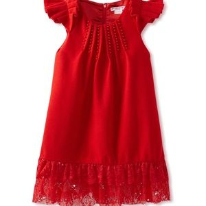 Miss treasures red dress